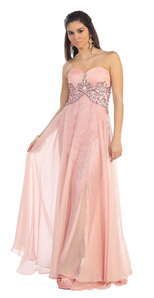 Mejores 53 imágenes de Prom Long Dresses en Pinterest   Vestidos ...
