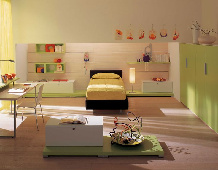 Awesome Children Rooms Designs by Berloni
