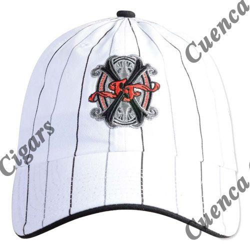 Shop Now Arturo Fuente Opus X Logo Baseball Hat - Pinstripe | Cuenca Cigars  Sales Price:  $24.99