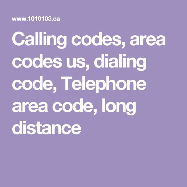 Calling codes, area codes us, dialing code, Telephone area code, long distance