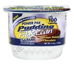 Power Pak Fit and Lean Pudding - Gluten free   GNC~Vitamin Shoppe