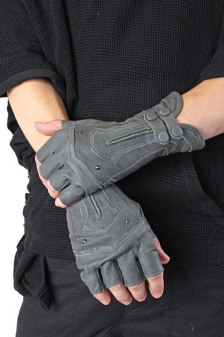 Steam Trunk Archery Leather Gloves  $ 160.00
