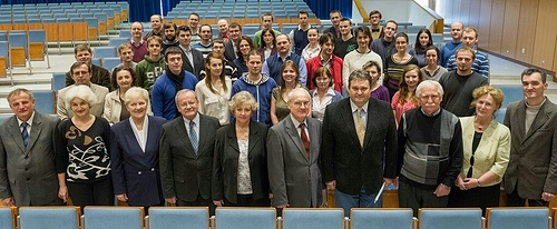 Official photo of the Department of Cybernetics and Artificial Intelligence at Technical University, Kosice, Slovakia