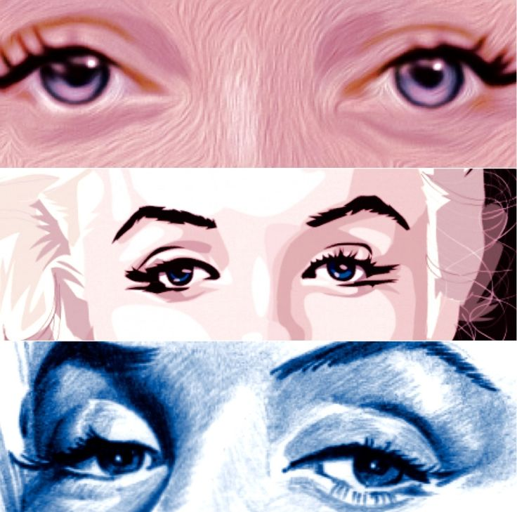 Marilyn+Monroe+by+Henstepbatbot