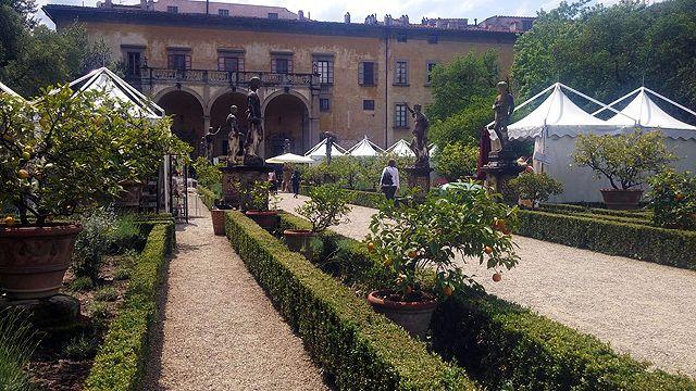 Gardens of the Palazzo Corsini al Prato Florence