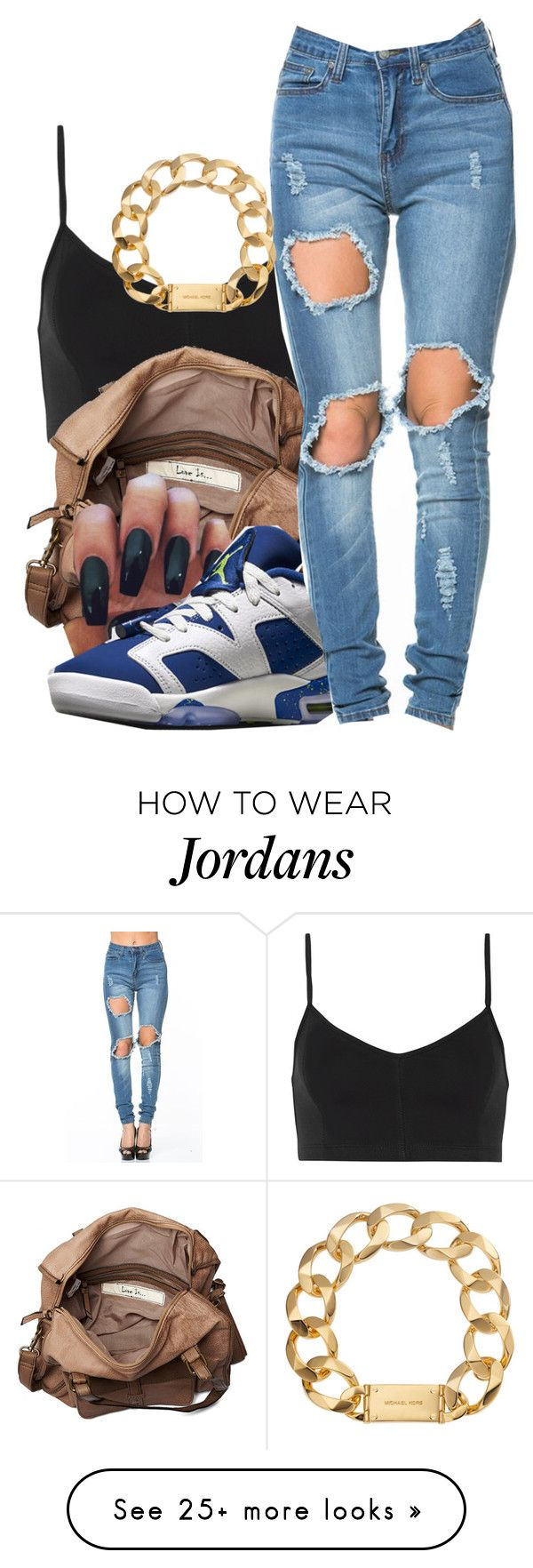 """""""Untitled #594"""" by zayani on Polyvore featuring Live The Process, Friis & Company, NIKE and Michael Kors"""