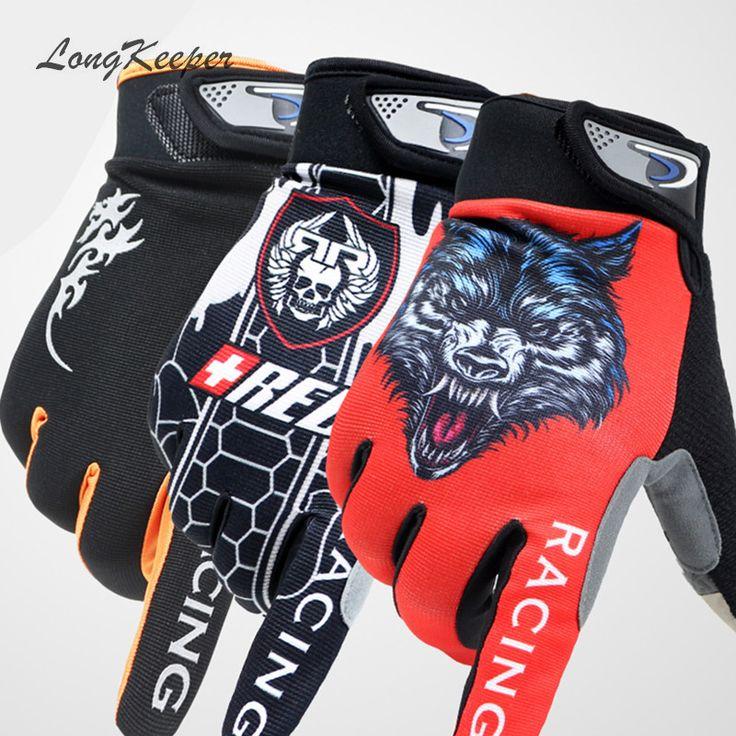 LongKeeper Mens Dito Pieno Guanti Palestra Sport Touch Screen Guanti per le Donne Degli Uomini Allenamento Fitness Autunno Inverno guantes S129