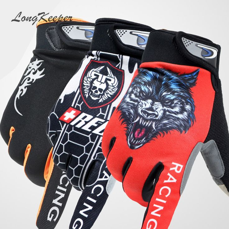 LongKeeper Mens Full Finger Gloves Gym Sport Touch Screen Gloves for Men Women Fitness Workout Autumn Winter guantes S129
