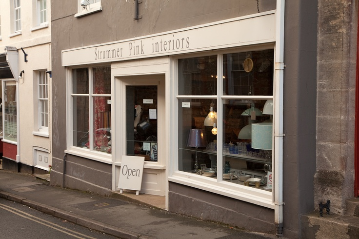 Strummer Pink, Interior Design and art gallery in the heart of Beaminster   photograph © natamagat.co.uk