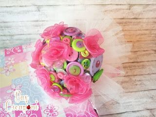Bax Creazioni: alternative bouquet for a little princess