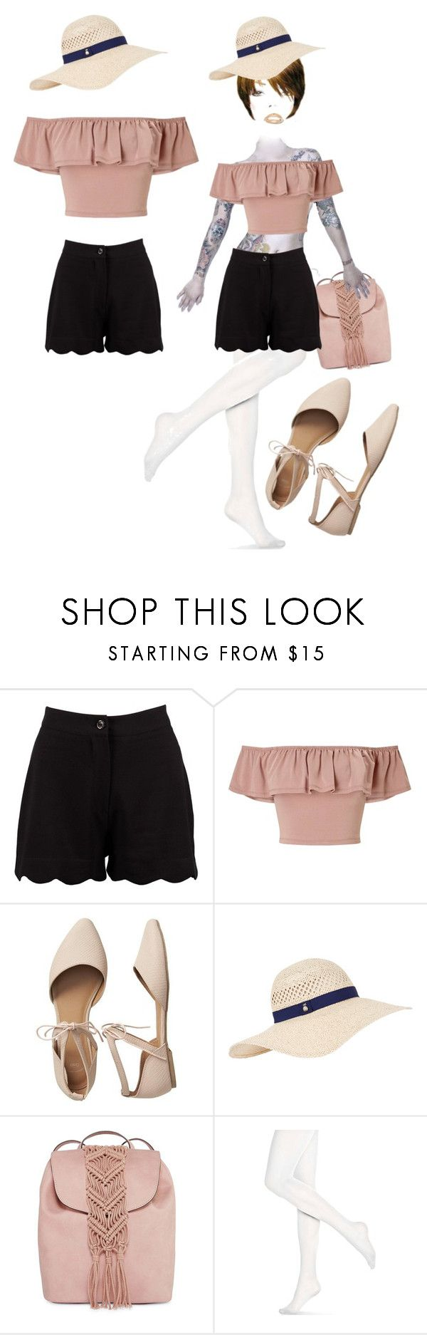"""""""Bez naslova #123"""" by nihadniks ❤ liked on Polyvore featuring Boohoo, Miss Selfridge, Gap, Accessorize, T-shirt & Jeans and Hue"""