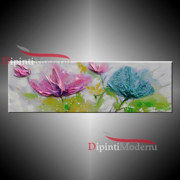 36 migliori immagini quadri moderni con fiori su pinterest for Quadri fiori olio