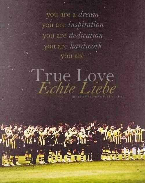 Borussia Dortmund. Echte Liebe