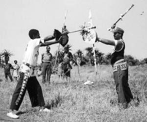 Zulu stick fighting of South Africa. #Zulu #UWM #Weapons #UnifiedWeaponsMaster