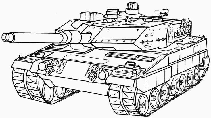 armee panzer malvorlagen kostenlos  coloring pages