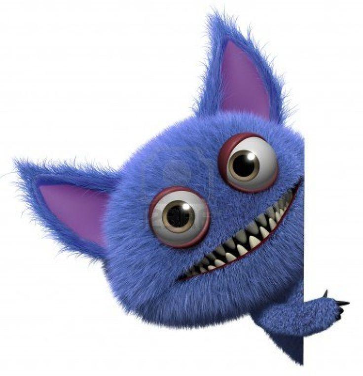 Monstruos tiernos animados - Imagui
