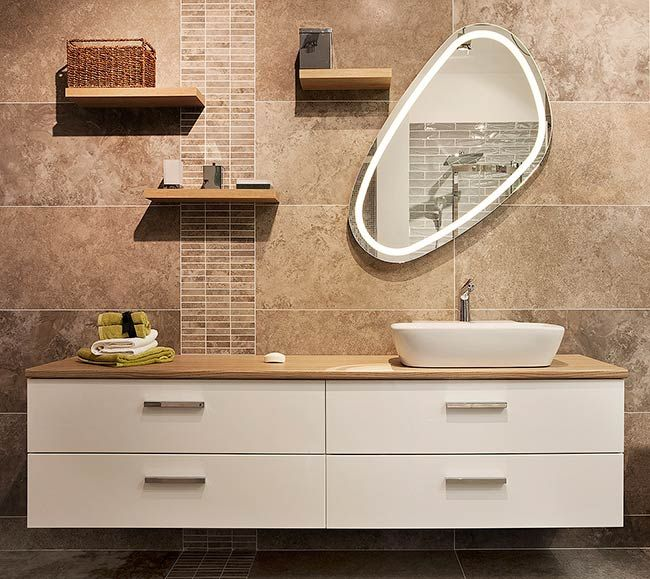 Luna Vanity unit by Dansani in TileStyle