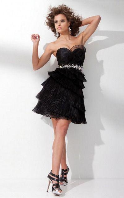Zipper Short Natural A-line Organza Formal Dresses afea7575