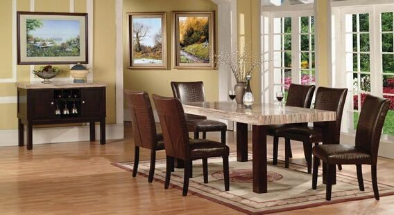 Furniture Rectangle Light Brown Wooden Table And Bench With Black