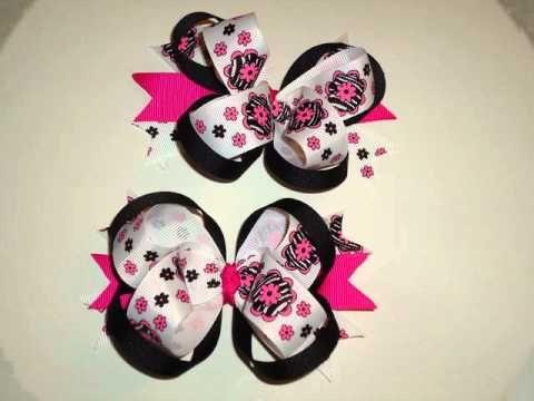 Lazos cintas y sandalias de bebe 2 youtube lazos - Lazos con cintas ...