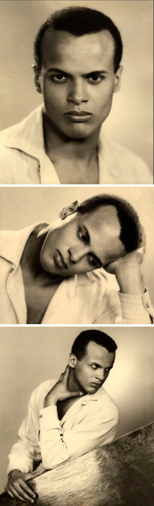 "Meet the extraordinary reluctant King of Calypso, Harry Belafonte. He's been named by some as such because of the way he made Calypso music popular. His first album titled ""Calypso"" was number four on Billboard's ""Top 100 Albums"". Harry is also the first Black to win an Emmy w/ his first solo TV special, Tonight W/ Belafonte. ""You are really responsible for the world in which you live"". Harry Belafonte"