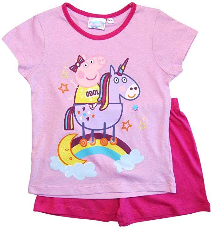 Peppa Pig Girls Unicorn Pyjamas