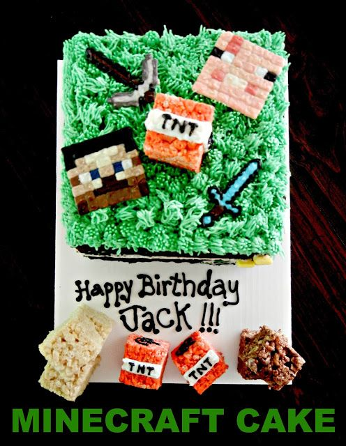 Minecraft Cake Decorations Uk : The 41 best images about Minecraft Cake Ideas on Pinterest ...