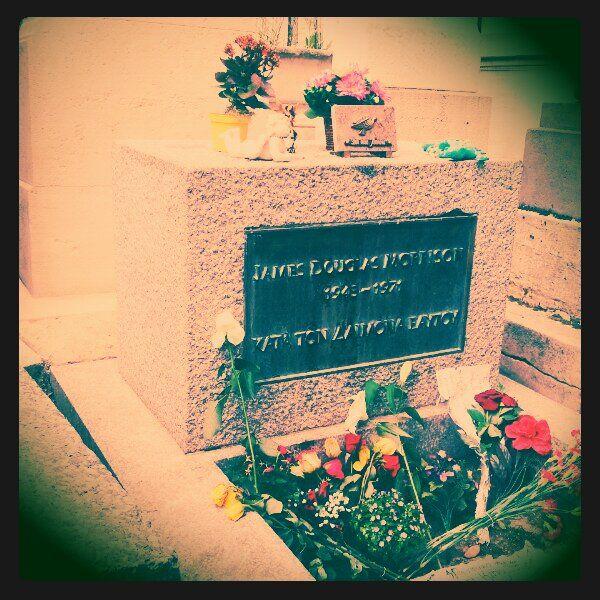RIP Jim Morrison, Pere Lachaise, Paris