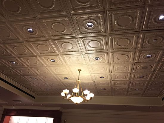 Decorative Tin Tiles 84 Best Metal Ceiling Tiles Images On Pinterest  Metal Ceiling