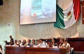 Realizan foro sobre Ley General de Asentamientos Humanos en Congreso de Oaxaca