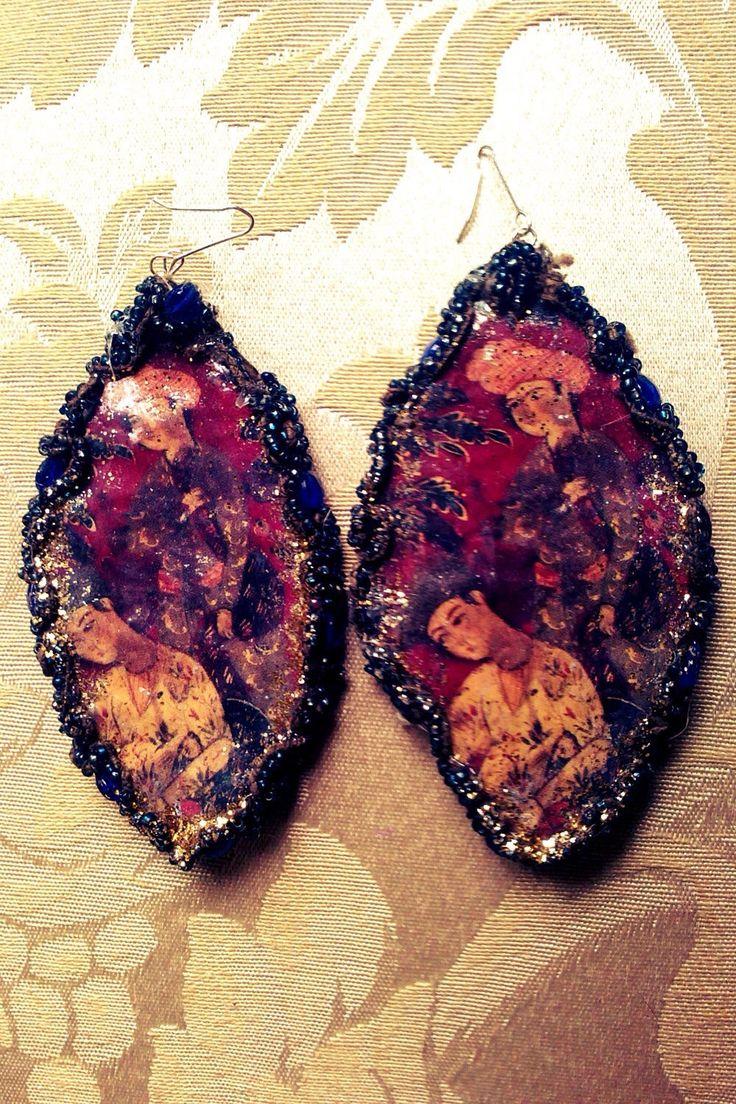 Un preferito personale dal mio negozio Etsy https://www.etsy.com/it/listing/93334634/handmade-earrings-created-with-paper