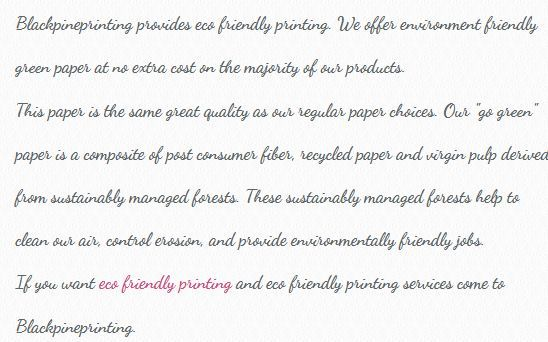 #Eco Friendly Printing Offer by #Blackpineprinting . http://blackpineprinting.weebly.com/blog/eco-friendly-printing-offer-by-blackpineprinting