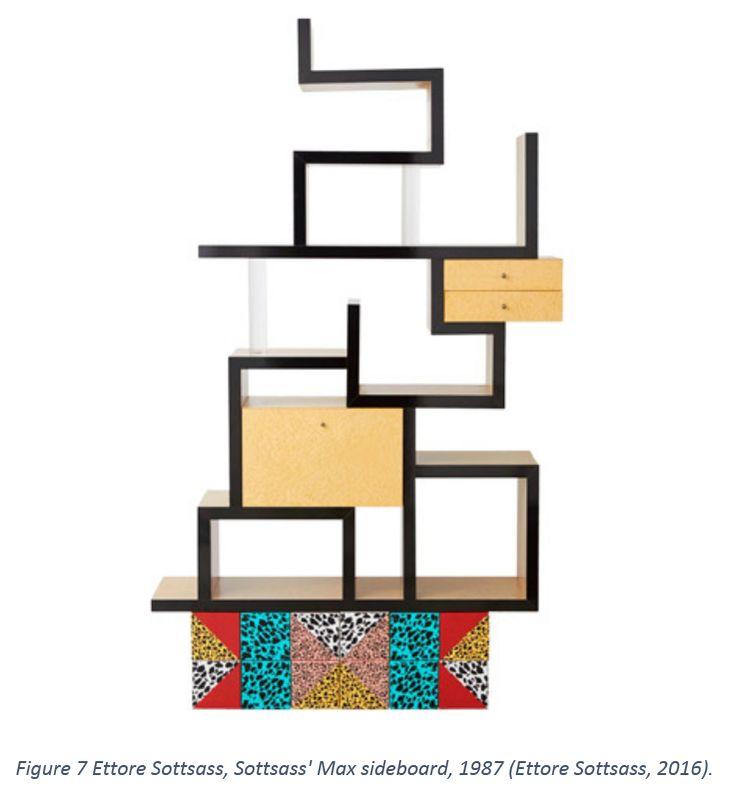 Figure 7 Ettore Sottsass, Sottsass' Max sideboard, 1987 (Ettore Sottsass, 2016).