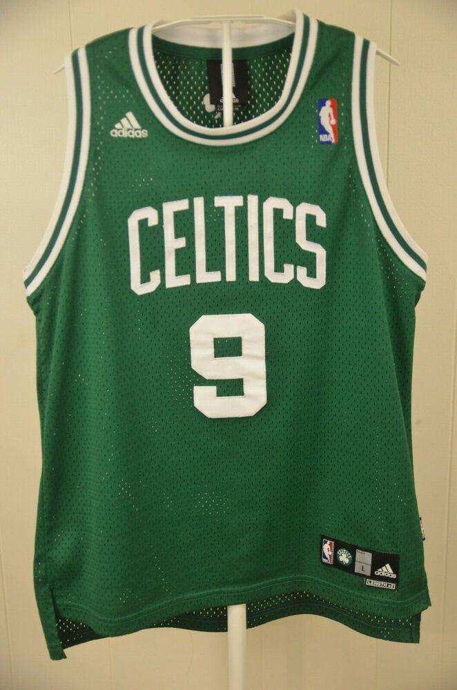 best service 26ef3 3b285 Authentic Adidas Boston Celtics Jersey #9 Rajon Rondo NBA ...