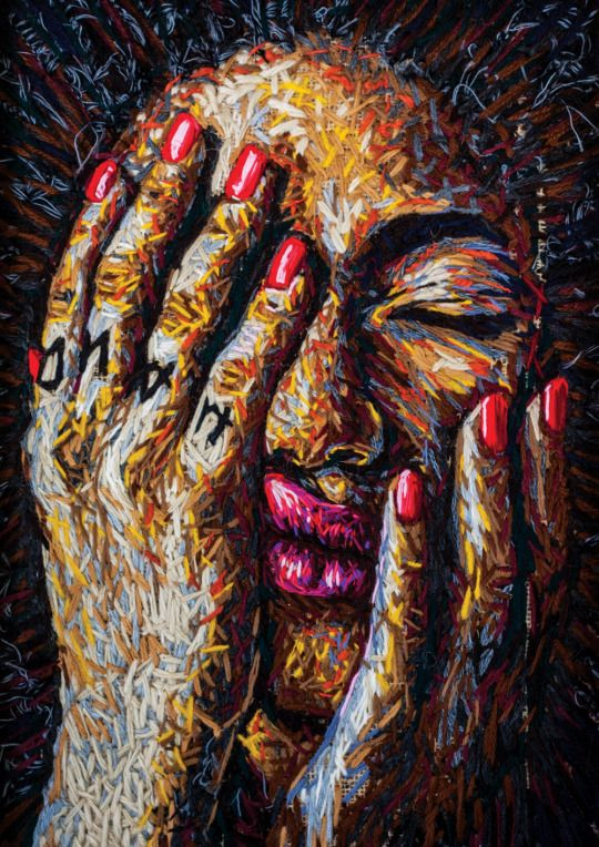 Embroidery artist: Danielle Clough
