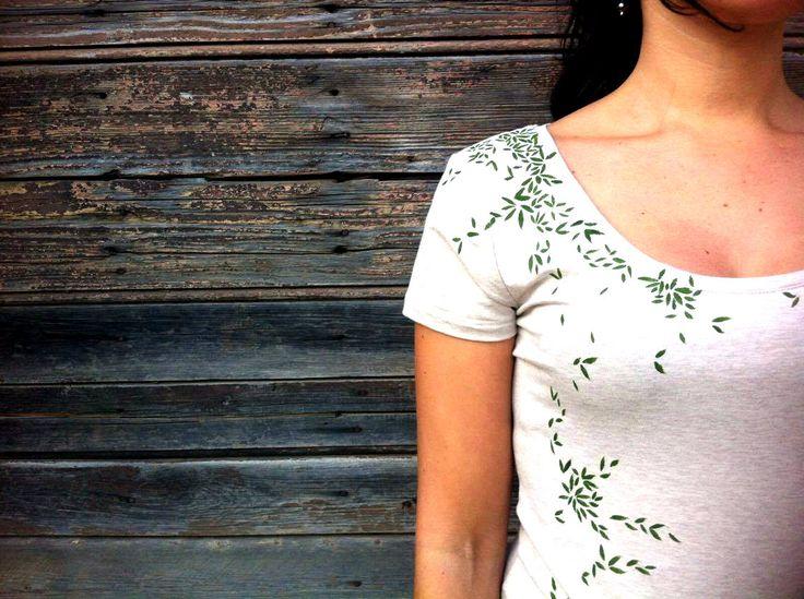 Green t-shirt color Nature di ImImagination su Etsy