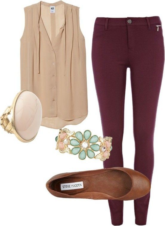 Cool Maroon Pants Outfit On Pinterest  Burgundy Pants Burgundy Pants