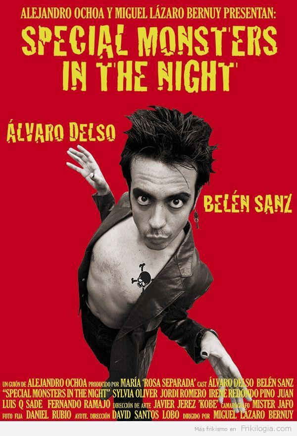 """[Corto] Special Monsters in the Night (2014) - http://frikilogia.com/corto-special-monsters-night-2014/  SinopsisdeSpecial Monsters in the Night:Jarrett Mortem, un afamado e infame director de cine de terror, acude a la ciudad de Almería junto con su equipo humano para rodar su nueva película: """"A Monster in the Fog"""". Tras """"la fiesta de inicio de rodaje"""", característica de las producciones Mortem,..."""