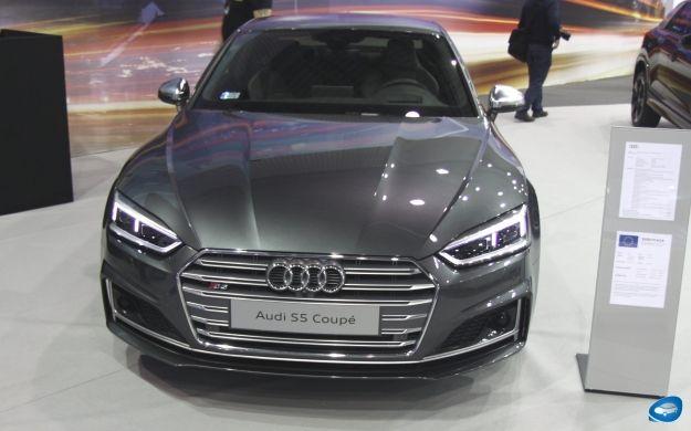 Audi S5 Coupe na targach Fleet Market 2016 https://www.moj-samochod.pl/Galerie/Audi-S5-Coupe-na-targach-Fleet-Market-2016 #Audi #S5 #AudiS5 #Coupe