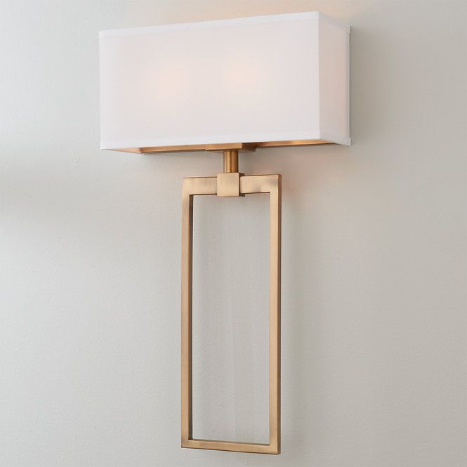 Sleek Chic Sconce In 2020 Sconces Chic Light Fixtures Sconce Shades