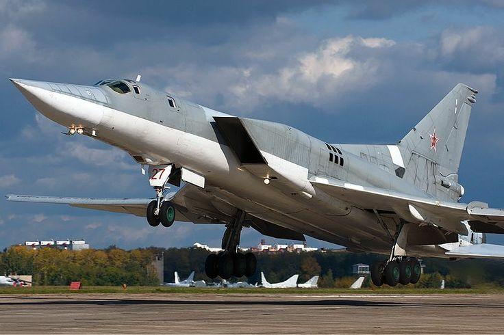 Russian Tupolev Tu-22M3 (NATO code: Backfire) strategic bomber.