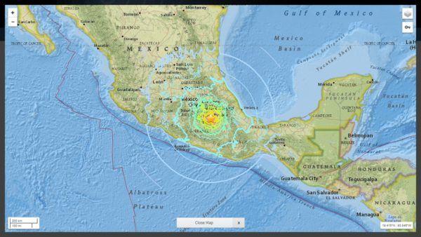 (adsbygoogle = window.adsbygoogle || []).push();   El epicentro se localizó en el Estado de Morelos en la parte central del país. Un fuerte sismo de magnitud 7,1ha sacudido la parte central de México, incluida la capital del país. El epicentro del sismo se localizó en el Estado de...