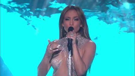 Jennifer Lopez Shines Bright Like A Diamond On The American Idol Stage ... American Idol  #AmericanIdol