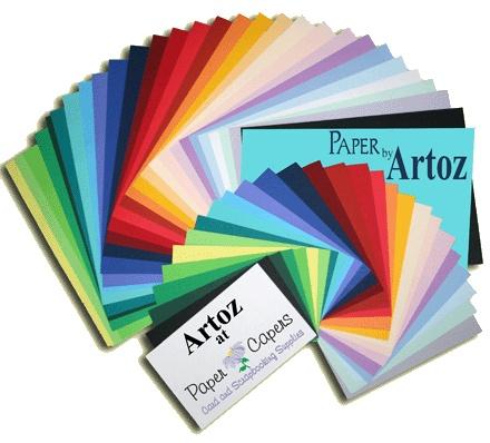 Artoz Papier in unzähligen Farben