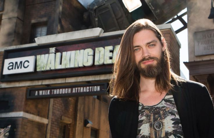 is gay on The Walking Dead: 15 heavenly pics of actor Tom Payne as ...