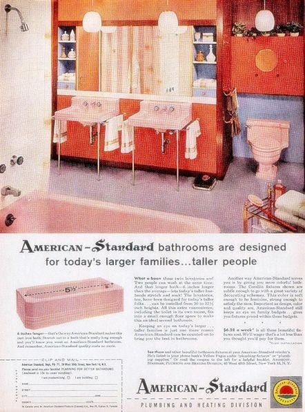 Storia del bagno - Viaggio nelle riviste vintage degli anni '50Bagni dal mondo | Un blog sulla cultura dell'arredo bagno
