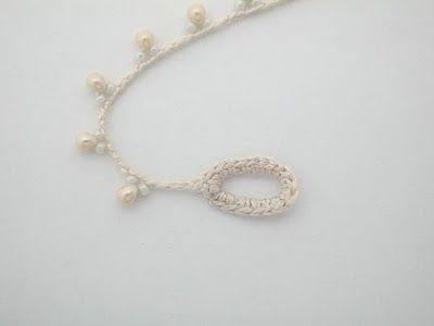 Nudo-Cha-Chá ™: Tutorial Understatement necklace crochet ❁•Teresa Restegui http://www.pinterest.com/teretegui/•❁