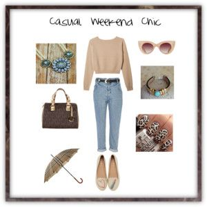 """""""Casual Weekend Chic"""" by Accessories-boutique on Polyvore"""
