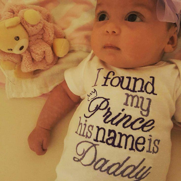 Daddy' princess onesie.