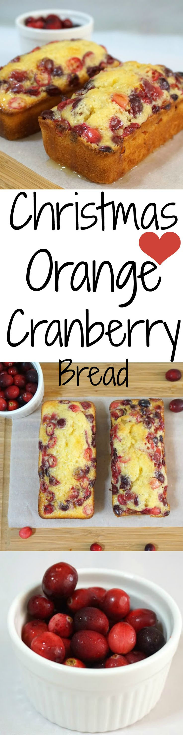 As CHRISTMAS time is approaching, time to bake these orange cranberry loaf/ bread!! The taste is A-M-A-Z-I-N-G!!
